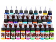 Rainbrow Colors Simple Set Half oz Vegan Tattoo Ink fit for beginners Easy to operate